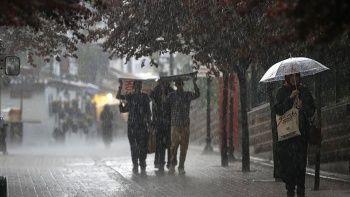 Meteoroloji il il uyardı: Gök gürültülü sağanak bekleniyor