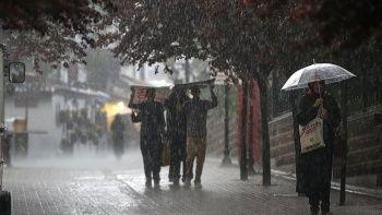 Meteorolojiden 9 il için 'kuvvetli yağış' uyarısı
