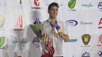 Milli yüzücü Türkiye'ye ilk birinciliğini kazandırdı