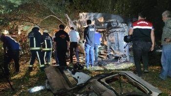 Mültecileri taşıyan minibüs kaza yaptı: Çok sayıda ölü ve yaralı var