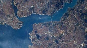 NASA astronotu Shane Kimbrough'tan İstanbul paylaşımı