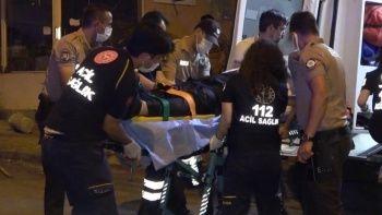 Olaylı gece: Cadde ortasında silahlı kavga