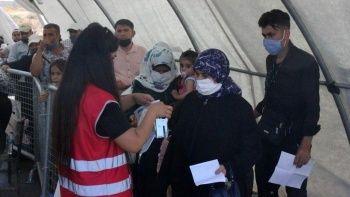 On binlerce Suriyeli bayram için ülkesine döndü