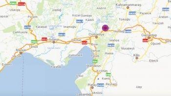 Osmaniye'de deprem oldu | Son depremler