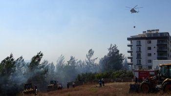 Osmaniye'de orman yangını: Vatandaşlar tahliye edildi