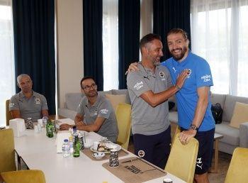 Pereira, Caner Erkin ile buluştu