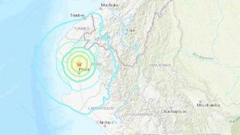 Peru-Ekvador sınırında büyük deprem!