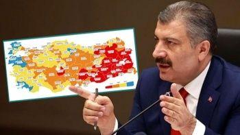 Sağlık Bakanı Koca duyurdu: Amasya maviye döndü