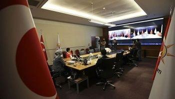 Siyasi partiler video konferans ile bayramlaştı