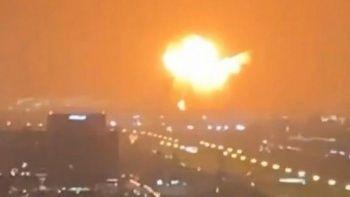 Son dakika...  Dubai'deki Cebel Ali Limanı'nda patlama