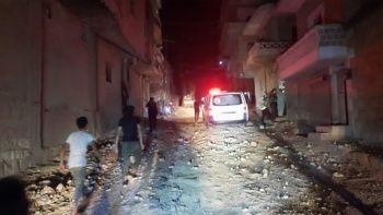 Son dakika: Terör örgütü PKK Afrin'e füzelerle saldırdı: Çok sayıda yaralı var