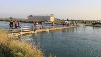 Sulama kanalına giren Suriye uyruklu çocuk kayboldu