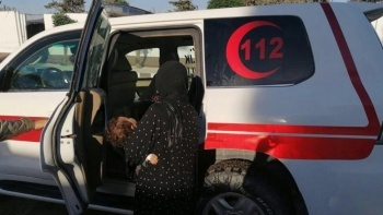 Suriye'de teröristler, hasta taşıyan ambulansa ateş açtı