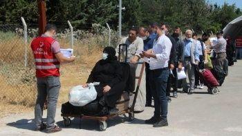 Suriyeliler bayram için ülkelerine dönüyor