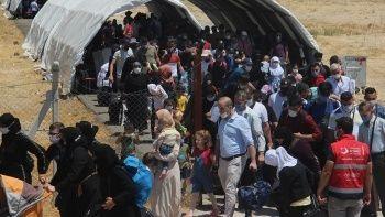 Suriyeliler Kurban Bayramı için ülkelerine dönmeye başladı