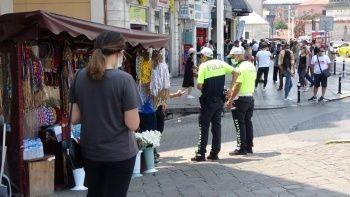 Taksim'de taciz iddiası: Gerginlik yaşandı işte o anlar