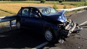 Tokat'ta hamile kadınla bir çocuk kazada hayatını kaybetti