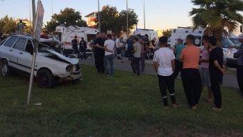 Trafik kazasında ambulans şoförü hayatını kaybetti
