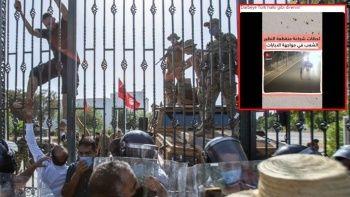 Tunuslular darbeye karşı 15 Temmuz'u örnek gösteriyor