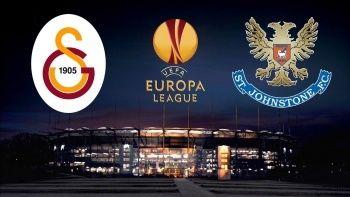 UEFA Galatasaray St. Johnstone maçı ne zaman? Galatasaray St. Johnstone maçı hangi kanalda yayınlanacak?