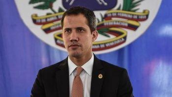 Venezuela'da muhalif lider Guaido polisler tarafından gözaltına alınmaya çalışıldı