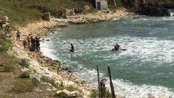 Yasağa rağmen denize giren gencin cesedi 25 saat sonra bulundu