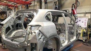 Yerli otomobil TOGG'un montajında ilk görüntü