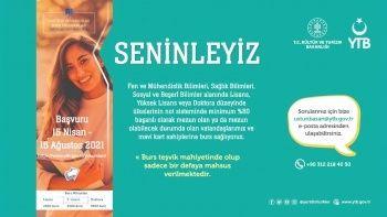 YTB'den yurt dışında yaşayan Türklere burs imkanı