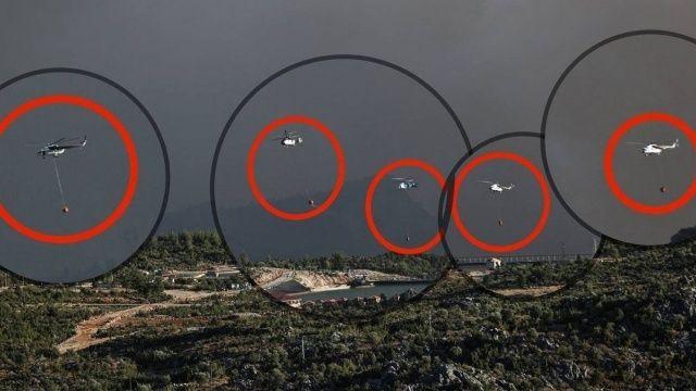 Altun'dan Böcek'in 'helikopter' manipülasyonuna fotoğraflı cevap
