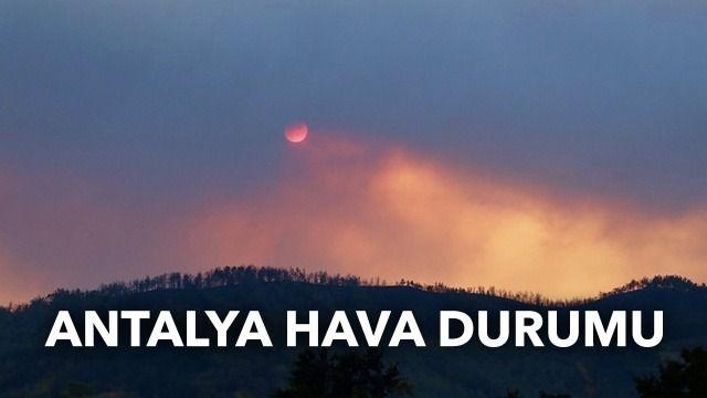 Antalya hava durumu: Antalya nem oranı kaç? Antalya, Manavgat hava durumu