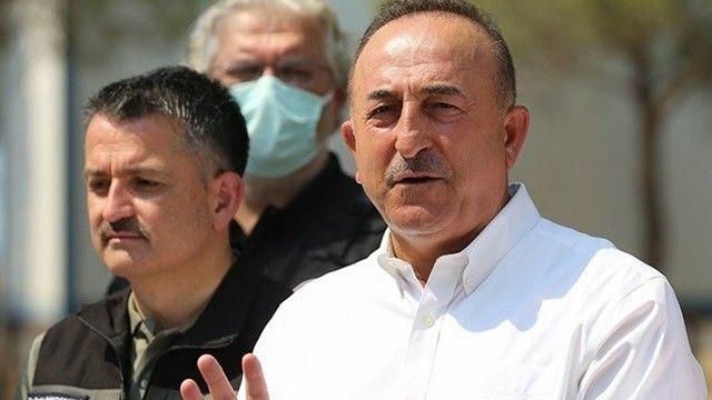 Bakan Çavuşoğlu: Fransa ve Yunanistan yardım teklifini geri çekti