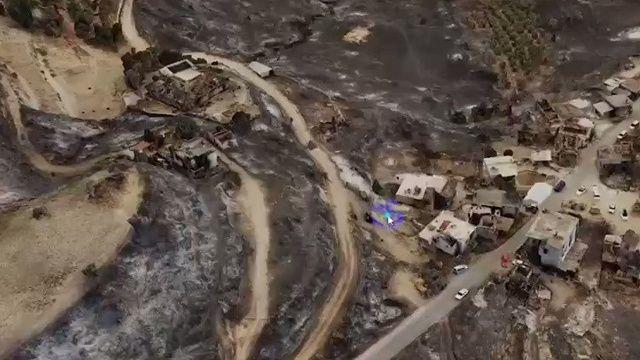 Türkiye'de bir ilk: İHA'lar yangınlarda 3 boyutlu hasar tespiti yaptı
