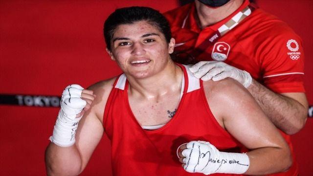 Busenaz Sürmeneli olimpiyat şampiyonu oldu mu? Tokyo 2020 Busenaz Sürmeneli boks final maçı