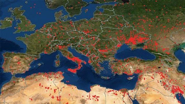 Dünya genelinde aktif yüzlerce yangın var! Her yer yanıyor