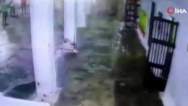 Hapishane tavanı çöktü: 22 yaralı