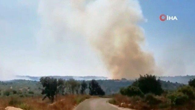 İsrail'e füzeyle saldıran Lübnan'a topçu saldırısıyla cevap!