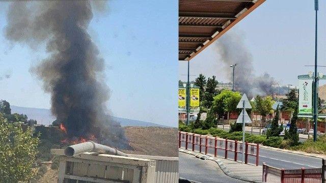 İsrail'e Lübnan'dan füze saldırısı