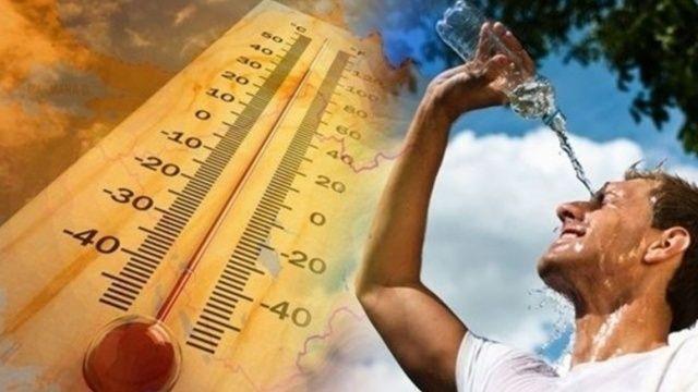 Meteoroloji uyardı! Yangın bölgelerinde sıcaklıklar mevsim normallerinin üzerinde