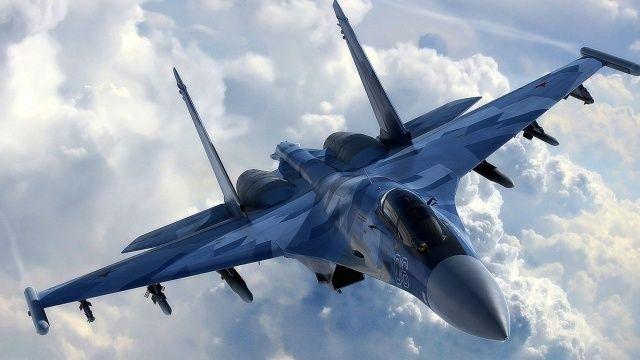 Rus Su-35S uçağı Ohotsk Denizi'ne düştü