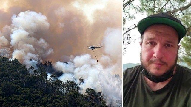 Şahan Gökbakar'dan yangın bölgesinde provokatör uyarısı: Komutana hakaret ettiler
