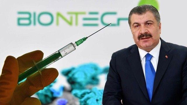 Son dakika... Bakan Koca duyurdu! Biontech aşılarında yeni gelişme