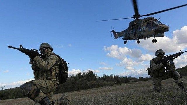 Son dakika: Eren-13 Operasyonunda 2 terörist öldürüldü