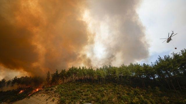 Son dakika: Haberler peş peşe geliyor! Antalya, Muğla, Isparta, Manisa ve Denizli'de yangına müdahale sürüyor