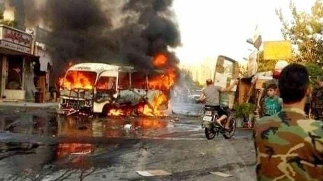 Suriye'de Esad'ın askerlerine bombalı saldırı:18 ölü