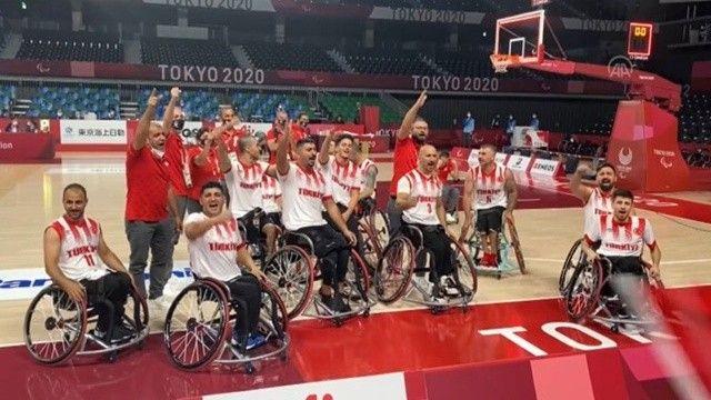Tekerlekli sandalye basketbolda Türkiye, Kanada'yı mağlup etti