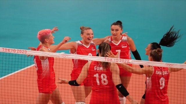 Tokyo 2020 Türkiye Rusya voleybol maçı kaç kaç bitti? A Milli Kadın Voleybol Takımı maç sonucu