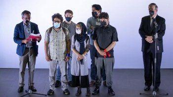 124 Afgan gazeteciyi Meksika ülkesine kabul etti