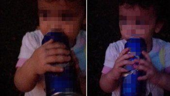 3 yaşındaki kızına alkol içirip fotoğrafını çekti: Baba şikayetçi oldu