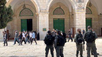 85 Yahudi Mescid-i Aksa'ya baskın düzenledi