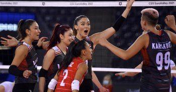 A Milli Kadın Voleybol Takımımız Hollanda'yı yenerek 5'te 5 yaptı